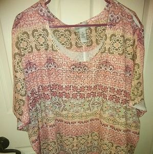Catherines 5X Shirt NWOT